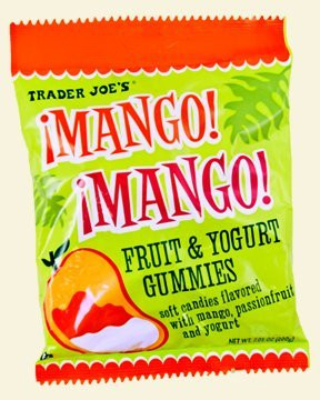 4 PACKS Trader Joe's Mango! Mango! Fruit Yogurt Gummies