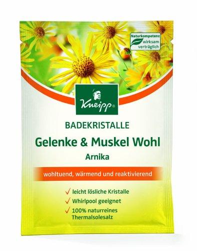 Kneipp Badekristalle Gelenke & Muskel Wohl Arnika, 60 g