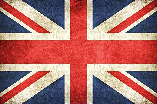 Metalen bord Land Vaandel United Kingdom National vlag Deco metalen bord tin Sign Deko