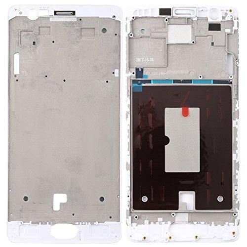 MDYH Frwd AYSMG Frontal de la Carcasa del LCD del capítulo del Bisel Placa for OnePlus 3 / 3T / A3003 / A3000 / A3100 (Negro) (Color : White)