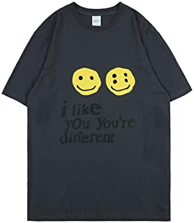 Arnodefrance I Like You You're Different Tshirt Hip Hop Tee Shirt Crew Neck Cotton Shirt