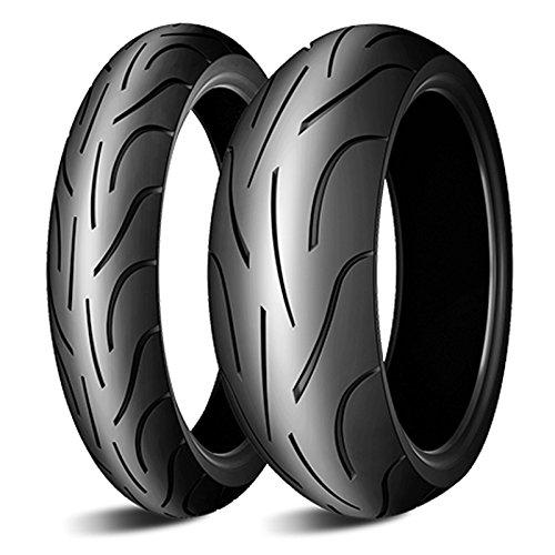 MICHELIN PILOT POWER 180/55 ZR17 73W + 120/70 ZR17 58W Motorradreifen Satz Set Paar Reifen