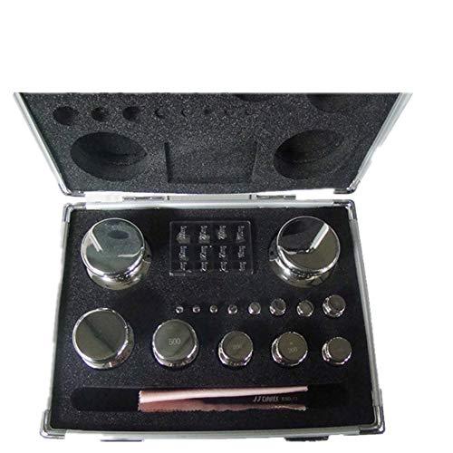 CGOLDENWALL - Juego de pesas de calibración de balanza E1 para balanza digital, báscula de joyería, báscula electrónica de laboratorio