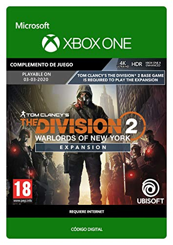 Tom Clancy's The Division 2: Warlords of New York Expansion  Xbox One...