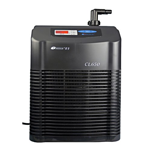 Resun Kühlaggregat Aquarium Durchlaufkühler CL-650 Titanwärmetauscher