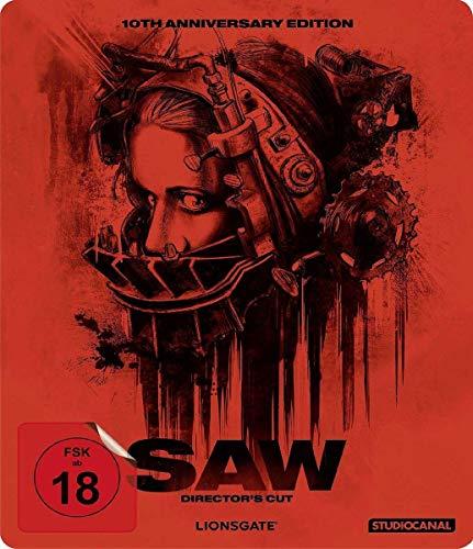 SAW - 10th Anniversary - Steelbook [Blu-ray] [Director's Cut]