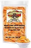 Duritos (Duros) Mexican Wheat Pellets Snack 4x4 Squares, 1 Lb Bag – Fritura de 4x4 - Chicharron de Harina.