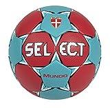 Select Balón Balónmano Mundo Rojo/Turquesa-3
