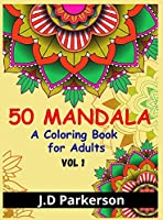 50 Mandala: Relaxing And Stress Relieff A Book With Unique Mandala Designs