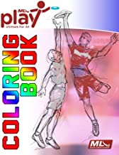 MLU Play Coloring Book: Color with your favorite Major League Ultimate teams