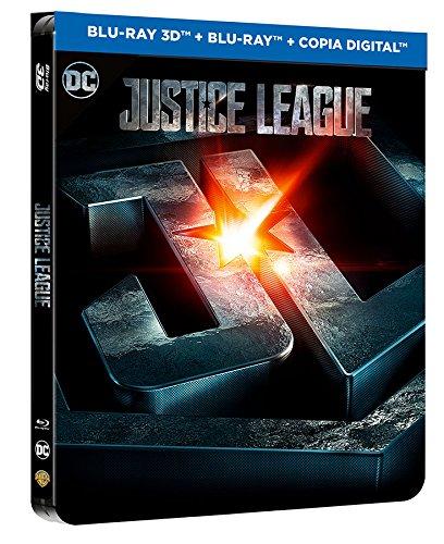 Liga De La Justicia Blu-Ray 3d + 2d Steelbook [Blu-ray]
