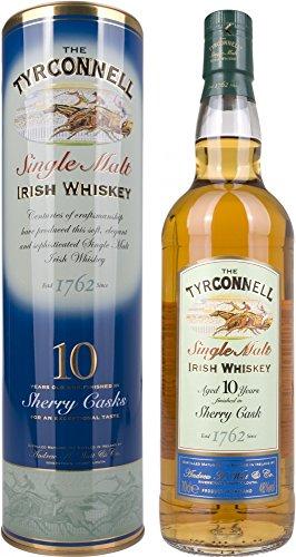 The Tyrconnell Sherry Finish Irish Whisky mit Geschenkverpackung 10 Jahre (1 x 0.7 l)