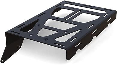 Cargo Rack Luggage Carrier Utility Rear Tail Holder Black Powdercoat fits: 85-05 Kawasaki KLR250 - Immix Racing - 100-008-black