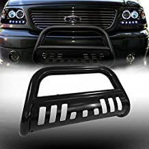 VioGi 1pc Fit 04-14 Ford F150 07-16 Lincoln Navigator/Ford Expedition New Carbon Steel C/S Blk Front Bumper Grill Guard Bull Bar