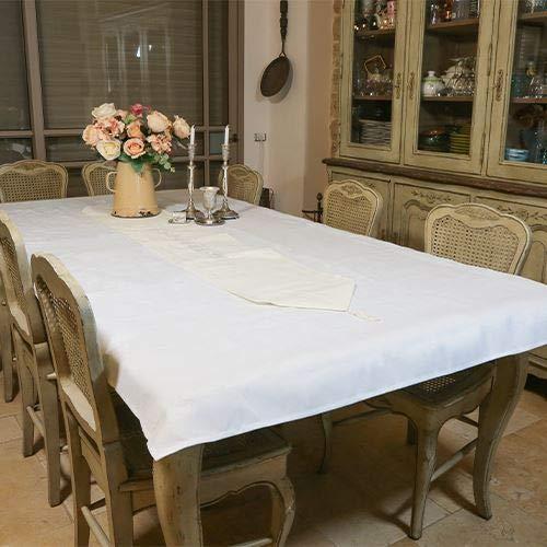Elegante mantel Camino de mesa con para shabat y vacaciones (55'x 138cm)