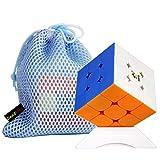 FunnyGoo YuXin Little Magic 3x3 M versión con m-m-agnet- Cubos de Rompecabezas mágicos Cubo mágico Cubo de Rompecabezas de Giro Suave y rápido Stickerless