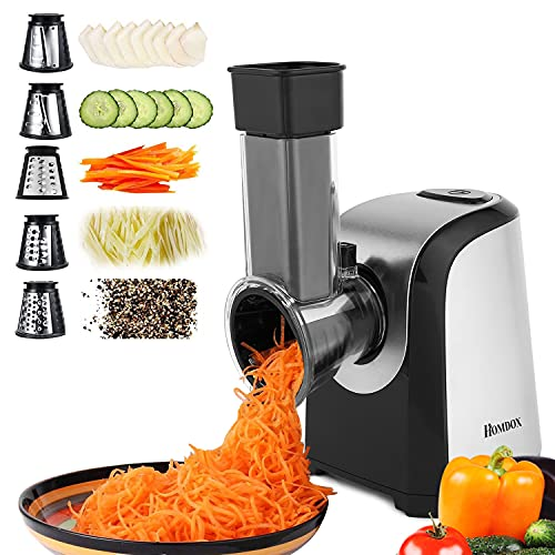 Professional Salad Maker, Electric Slicer Shredder/Graters/Chopper for Cheese, Carrot, Potato, Cucumbers
