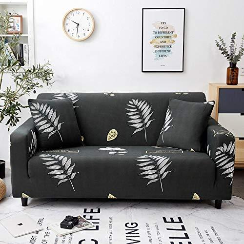 WXQY Funda de sofá elástica Impresa, Funda de sofá, Funda de sofá elástica con Todo Incluido, Utilizada para la Funda de protección de sofá de Esquina A27 1 Plaza