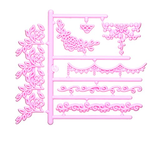 KitchenCraft Sweetly Does It Garland 3D Embossing Cutters