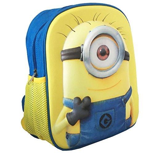 Les MINIONS SAC A DOS EN EVA Children's Backpack, 31 cm, Blue (Bleu)
