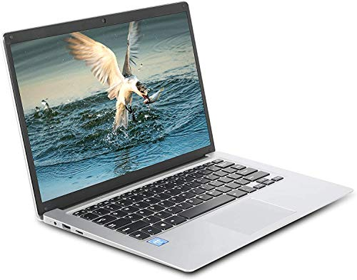 GOODTEL 14 Pulgadas Ordenador Portátil Muy Fino hasta 2.0GHz, 4G RAM 64G ROM Quad-Core Windows 10, 1080p IPS, M.2 Slot WiFi USB 38Wh, HD Video Port, Adecuado para Trabajo Pelicula Entretenimiento