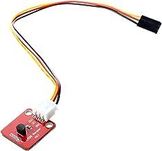 Noblik LM35 LM35DZ Modulo de Sensor termico del Temperatura 0-100 Grados Celsius - rojo