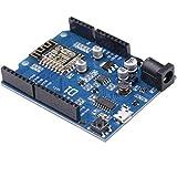ARCELI Smart Electronics ESP-12E WeMos D1 WiFi uno basado ESP8266 Escudo para arduino Compatible