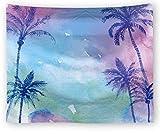 WSSHUIYI Mantas de Franela Bedsure árbol de Coco Manta de Bebé Unisex Suave y Cómoda Siesta 3D Microfibra Invierno Cálido Sofás Mantas para Cama Edredón de Retazos-M(150X180CM)
