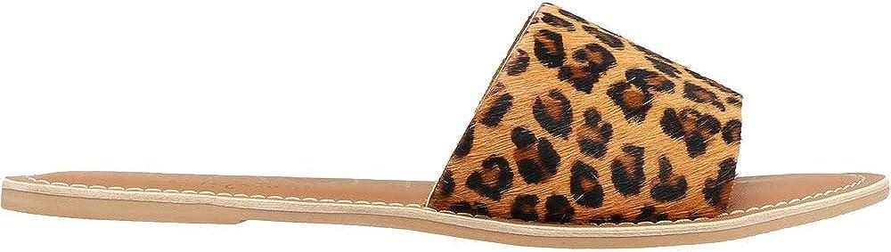 10%OFF BEACH by Matisse Womens Cabana Print 格安店 Sandals Slide Leopard Sanda
