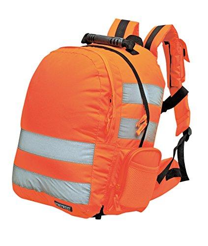 Standard Warnrucksack hohe Sichtbarkeit tagsüber, Gelb oder Orange Orange orange L28 x W21 x H43, 25 Litres