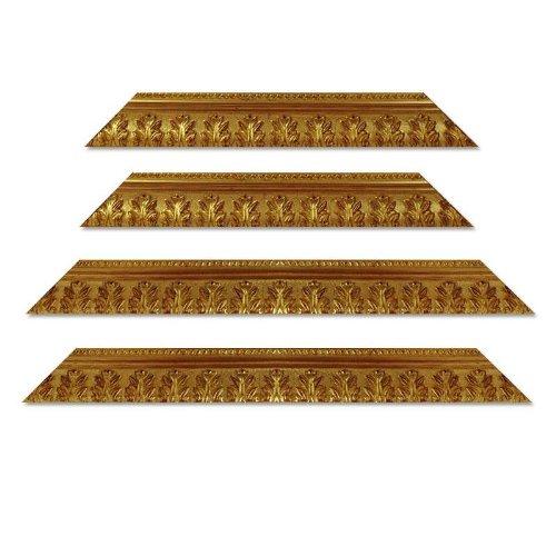 Barockrahmen 750 ORO, gold, 61 x 91 cm, Zuschnitt mit Gehrung