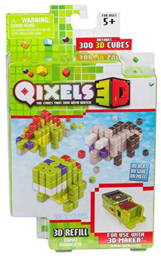 Qixels Season 4 3D Refill Pack Dino Danger Toy