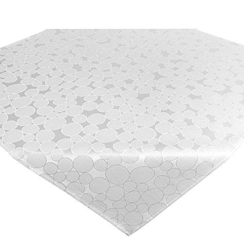 Tovaglie Serie ROMA / 85x85 cm / moderna, adatta a tutto l'anno / bianco
