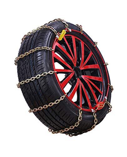 Rueda de coche neumático cadena de nieve Cadena de nieve Cadena de nieve Neumáticos Cadena de nieve Coche Off-Road Vehículo Suv Neumático Cadenas de nieve Fácil de instalar Cadenas de neumáticos de ni
