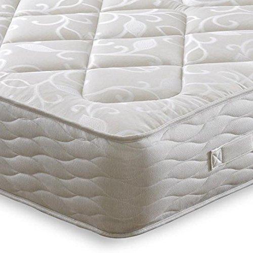 Cheap Beds Direct Pegasus, Baumwolle, doppelte Sprung mit festen Matratze, King Size (Zip and Link) 5'0 x 6'6