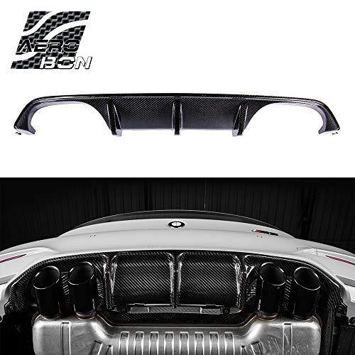 AeroBon M Performance Carbon Fiber Rear Bumper Diffuser Compatible with 2013-20 BMW F80 M3 / F82 M4 / F83 M4