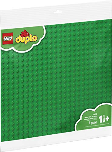 LEGO DUPLO Creative Play Large Green Building Plate 2304 Building Kit...