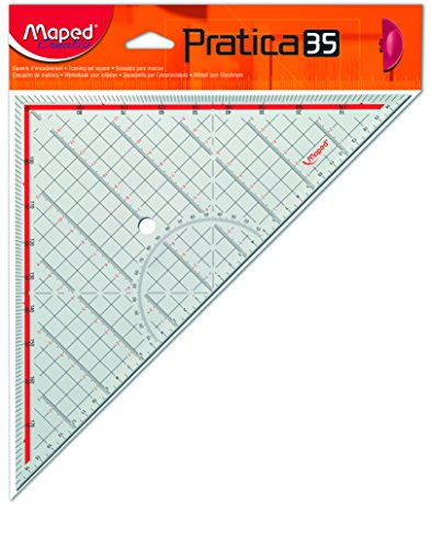 Maped M147100 Geometriedreieck Practica 35 mit Griff
