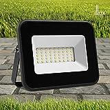 Illux de México RL-3630.N65 – Reflector led exterior de 30w para sobreponer en piso. Luz fría blanca. Ideal para iluminar fachadas, casas, cocheras, monumentos. 30,000 horas de vida.