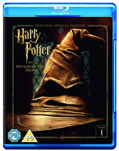 Harry Potter and the Philosopher's Stone [Year 1] [2016 Edition 2 Disk] [Blu-ray] [2001] [Region Free]