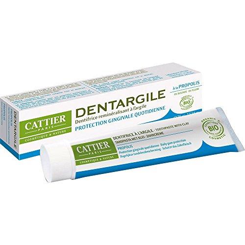 Cattier Dentifrice reminéralisant à la Propolis Protection des gencives Bio- 75 ml
