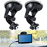 2 Pieces Windshield Suction Cup Mount Bracket for 7 Inch Display Monitor Rear View Backup Camera Car Monitor Display, Fix The Monitor on Windshield