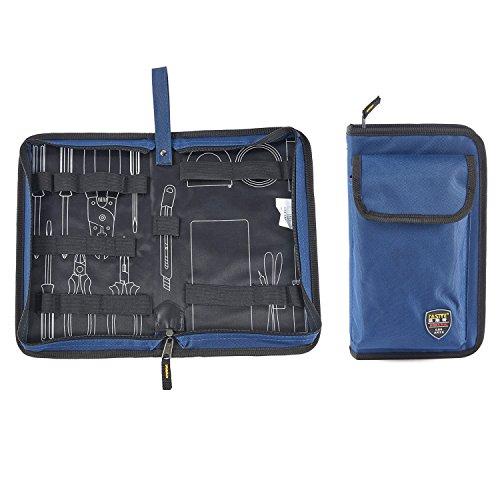 Bolsa de herramientas Babimax con cremallera, rígida