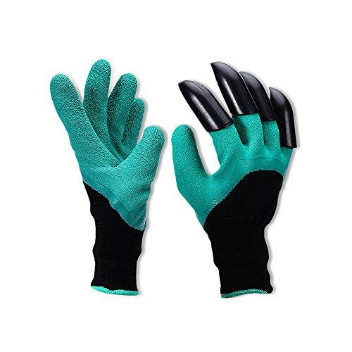 Gants de jardinage à portée de main griffes pour planter, creuser et désherbage Jardin creuser outils
