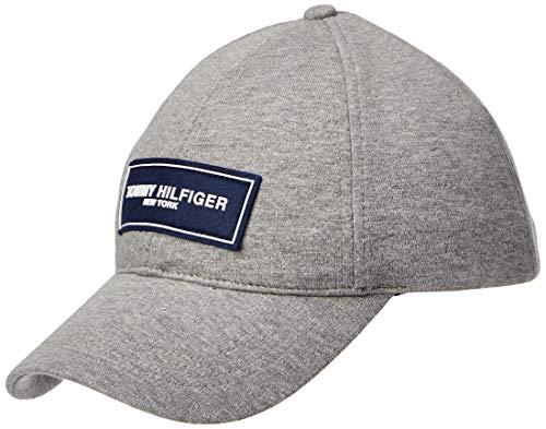 Tommy Hilfiger Herren Tailored Baseball Cap, Grau (Mid Grey 059), One Size (Herstellergröße: OS)