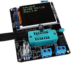 Silverdewi Transistor Tester Diodo Capacitancia Esr Voltaje Medidor de frecuencia Pwm Digital Lcd Display Tester