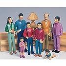 Marvel Education. 136 Pretend Play Hispanic Family Set of 8 Figures