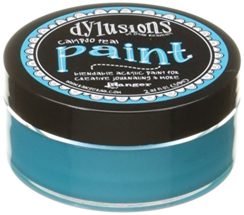 Ranger dya3124 Calypso Teal Dylusions Paint Farbe, türkis