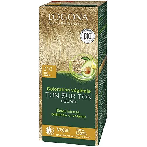 Logona, Tinta per capelli alle erbe, in polvere, per capelli biondi, Blé doré