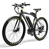 LANKELEISI RS600 vélo électrique Batterie Samsung 36V 20Ah, Cadre en Alliage d'aluminium, Mode Pas jusqu'à 100 km, vélo de Route pour vélo de Ville Adulte (Gris)